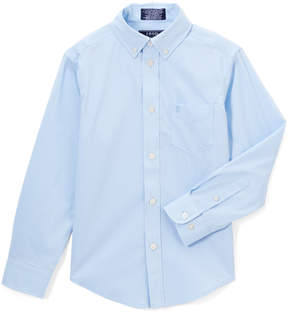 Izod Noon Blue Button-Up - Boys