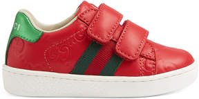 Gucci Toddler Signature sneaker with Web