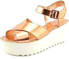 Material Girl Waver Open Toe Synthetic Platform Sandal.