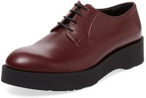 Jil Sander Men's Leather Derby Shoe
