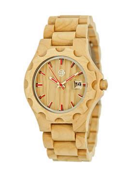 Earth Wood Gila Khaki Bracelet Watch with Date ETHEW3301
