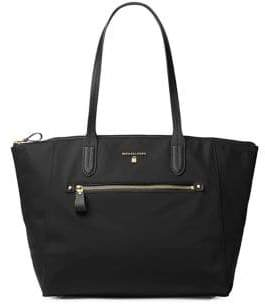 MICHAEL Michael Kors Kelsey Solid Signature Tote - BLACK - STYLE