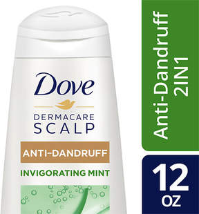 Dove 2 in 1 Anti-Dandruff Invigorating Mint