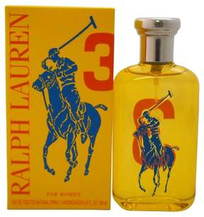 Ralph Lauren The Big Pony Collection # 3 by Ralph Lauren Eau de Toilette Women's Spray Perfume - 3.4 fl oz