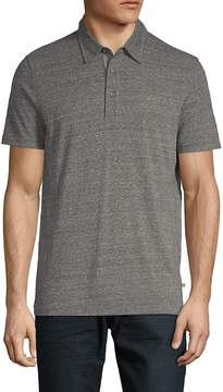 AG Adriano Goldschmied Men's Short-Sleeve Heathered Polo