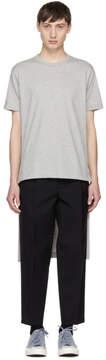 Comme des Garcons Grey Short/Long T-Shirt