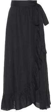 Etoile Isabel Marant Isabel Marant, Étoile Alda linen wrap skirt