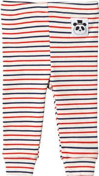 Mini Rodini Striped Rib Leggings