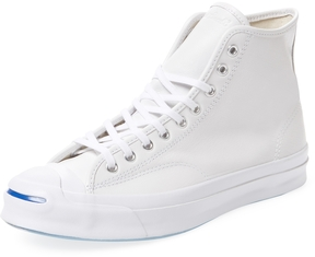 Converse Men's Jack Purcell Signature High Top Sneaker