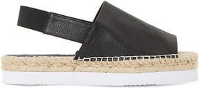 Dune Lucindie leather espadrille sandals