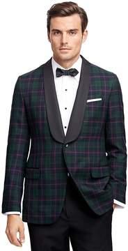 Brooks Brothers Fitzgerald Fit Tartan Tuxedo Jacket