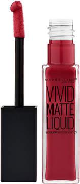 Maybelline Color Sensational Vivid Matte Liquid Lip Color - Red Punch