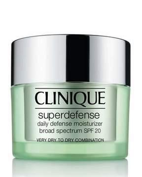 Clinique Superdefense Daily Defense Moisturizer Broad Spectrum SPF 20 Skin Types 1 & 2, 50ml