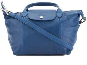 Longchamp Blue Metis Leather Le Pliage Cuir S Top Handle Bag - ONE COLOR - STYLE