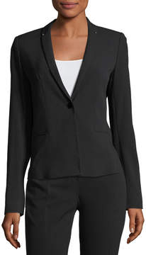 T Tahari Hadar Staple-Back Jacket