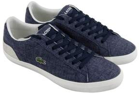 Lacoste Lerond 218 1 Cam Navy Natural Mens Lace Up Sneakers