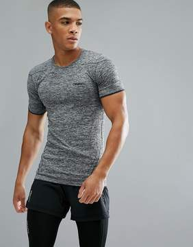 Craft Sportswear Active Comfort Running Knitted T-Shirt In Gray 1903792-9999