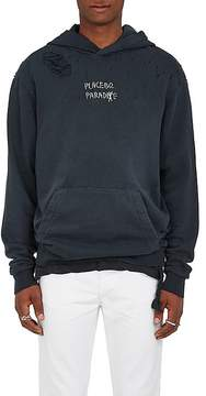 Ksubi Men's Placebo Paradise Distressed Cotton French Terry Hoodie