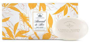 Almond and Aloe 3 Bar Soap Set by Caswell-Massey (5.2ozea)