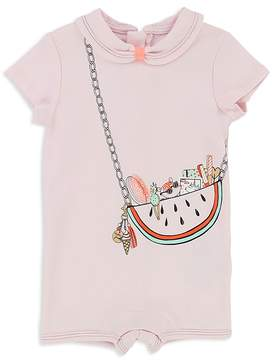 Little Marc Jacobs Girls' Trompe L'Oeil Watermelon Purse Coverall - Baby