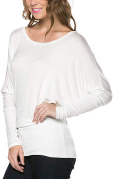 Celeste White Blouson Top - Women