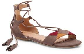 Restricted Playful Ghillie Lace-Up Sandal