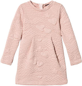 Ikks Pink Quilted Dress
