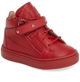 Giuseppe Zanotti Taylor Junior High Top Sneaker