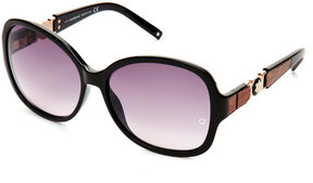 Montblanc MB 420/S Black Butterfly Sunglasses