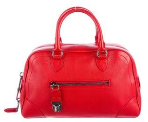 Marc Jacobs Leather Handle Bag - RED - STYLE