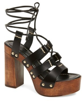 Kenneth Cole New York Women's 'Kenzie' Lace-Up Sandal