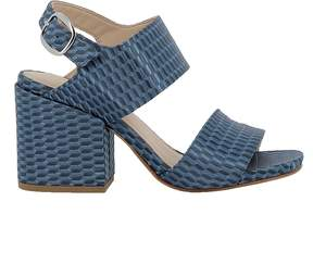 Elena Iachi Avion Fabric Sandals