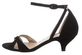 Repetto Suede Multistrap Sandals