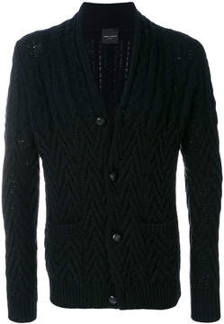 Roberto Collina long sleeved buttoned cardigan