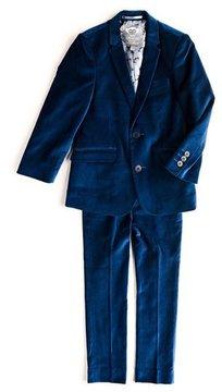 Appaman Mod Velvet Two-Piece Suit, Size 2T-14