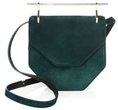 M2Malletier Bohemian Suede Crossbody Bag