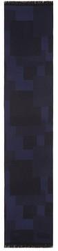 Armani Collezioni Diagonal Stripe Scarf