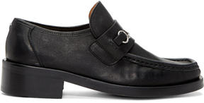 Maison Margiela Black Chain Loafers