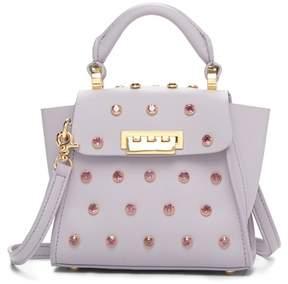 Zac Posen Eartha Iconic Mini Top Handle Leather Satchel Bag