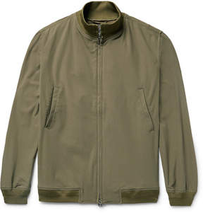 Beams Stretch-Twill Blouson Jacket