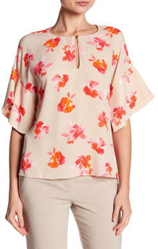 Ellen Tracy Handkerchief Sleeve Top
