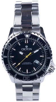 Croton N/A Mens Two Tone Bracelet Watch-Ca301295ttbl