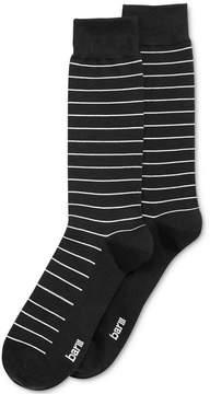 Bar III Men's Seamless Toe Patterned Fine Line Striped Dress Socks, Created for Macy's