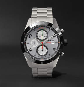 Montblanc Timewalker Chronograph Automatic 43mm Stainless Steel And Ceramic Watch
