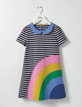 Boden Fun Appliqué Jersey Dress