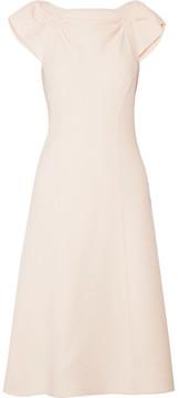 Bottega Veneta Wool-crepe Dress - Blush