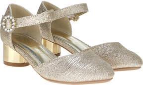Monsoon 2 Part Diamante Buckle Jazz Shoes