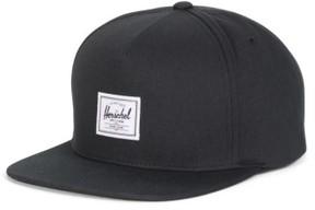 Herschel Men's Dean Snapback Baseball Cap - Black