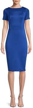 Alexia Admor Women's Printed Scuba Sheath Dress