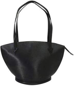 Louis Vuitton St Jacques leather handbag - BLACK - STYLE
